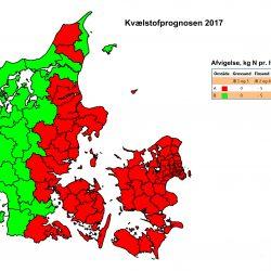 Kvælstofprognose 2017